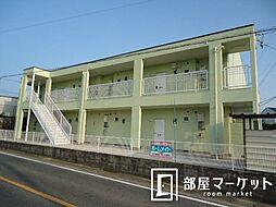 愛知県豊田市住吉町丸山の賃貸アパートの外観