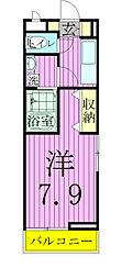 埼玉県八潮市大字木曽根の賃貸アパートの間取り