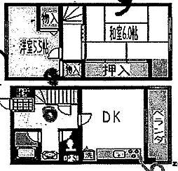 フローライト玉造[5階]の間取り