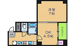 GRAND VERY[5階]の間取り