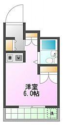 ひまわり館[1階]の間取り