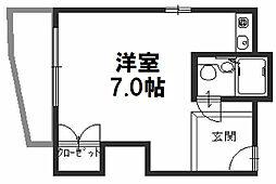 JPアパートメント淀川[403号室]の間取り