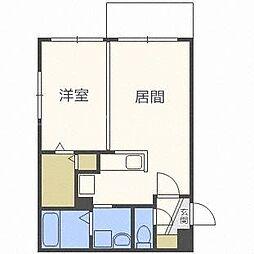 モルティーニ東札幌[3階]の間取り