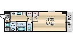 M'PLAZA新大阪壱番館[6階]の間取り