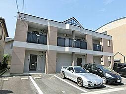 滋賀県湖南市平松北2の賃貸アパートの外観