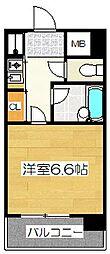 ピュアドームフローリオ博多[9階]の間取り