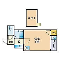 藤崎駅 2.7万円