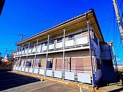 東京都清瀬市下清戸5丁目の賃貸アパートの外観