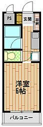 とれぞーる神戸の森[1階]の間取り