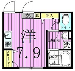 メゾン フォレスト[2階]の間取り