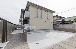 大阪府河内長野市昭栄町の賃貸アパートの外観