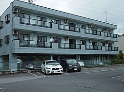 栃木県宇都宮市昭和3丁目の賃貸マンションの外観