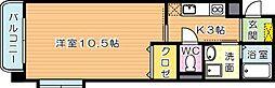 エヴァーグリーンM[7階]の間取り