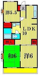 第11泉マンション[5階]の間取り