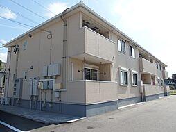 愛知県岡崎市大平町字大割の賃貸アパートの外観