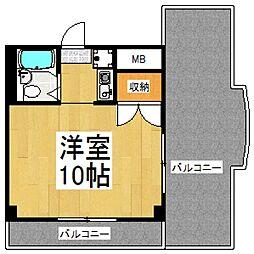 セイコーガーデン朝霞[10階]の間取り
