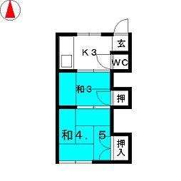 岩塚駅 3.0万円