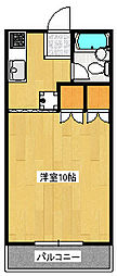 レジデンス峰[1階]の間取り