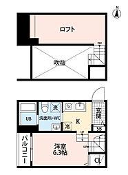 アバンティ今宿(礼金プラン)[103号室号室]の間取り