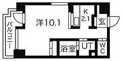ヴィターレ[8階]の間取り