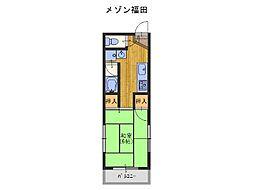 貝塚市役所前駅 2.5万円