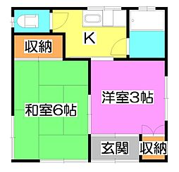 [一戸建] 埼玉県志木市本町6丁目 の賃貸【/】の間取り