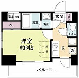 セレニテ新大阪カルム[8階]の間取り