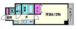 CHEZMOIHIROSE[9階]の間取り