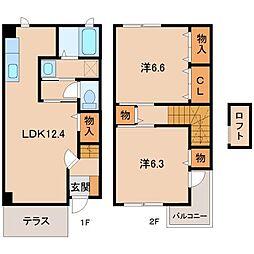 和歌山県和歌山市松島の賃貸マンションの間取り