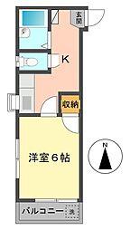 東京都江戸川区東小岩5の賃貸マンションの間取り