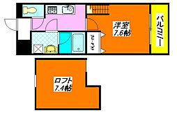 フジパレス・えんじゅ 205号室[2階]の間取り