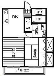ローウェルズ3番館[105号室]の間取り