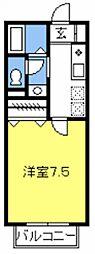 リバーサイドハイツIII[105号室号室]の間取り