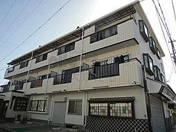大阪府八尾市上之島町南1丁目の賃貸アパートの外観