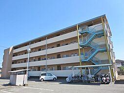 山梨県甲斐市中下条の賃貸アパートの外観