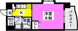 BRILLIANT36[701号室]の間取り
