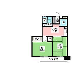 近藤ビル[6階]の間取り