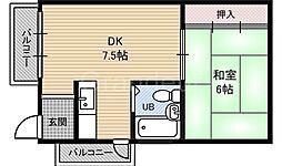城東第8ビル[3階]の間取り
