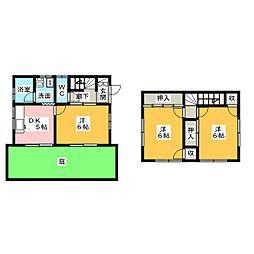 [一戸建] 愛知県半田市柊町4丁目 の賃貸【/】の間取り