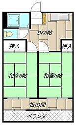 大東ビル[5階]の間取り