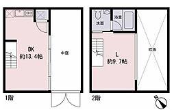 Hi-ROOMS明大前A[2階]の間取り