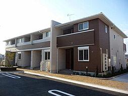 兵庫県加古郡播磨町二子字石保の賃貸アパートの外観