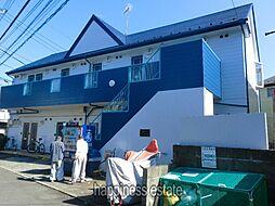 東京都町田市南大谷の賃貸アパートの外観