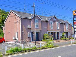 京都府木津川市吐師松葉の賃貸アパートの外観