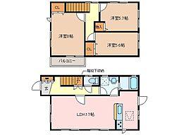 [一戸建] 三重県松阪市久保町 の賃貸【/】の間取り