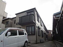 東京都葛飾区奥戸6丁目の賃貸アパートの外観