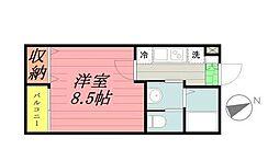 SOLEIL COPAIN[2階]の間取り