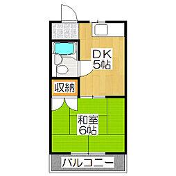 寺内ハウス[1階]の間取り