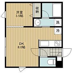 サンライトハウス[2階]の間取り