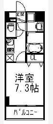Palazzo Kubota[6階]の間取り